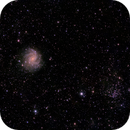 NGC 6946 Spiral Galaxy and NGC 6939 Open CLuster,                                Roger Menard