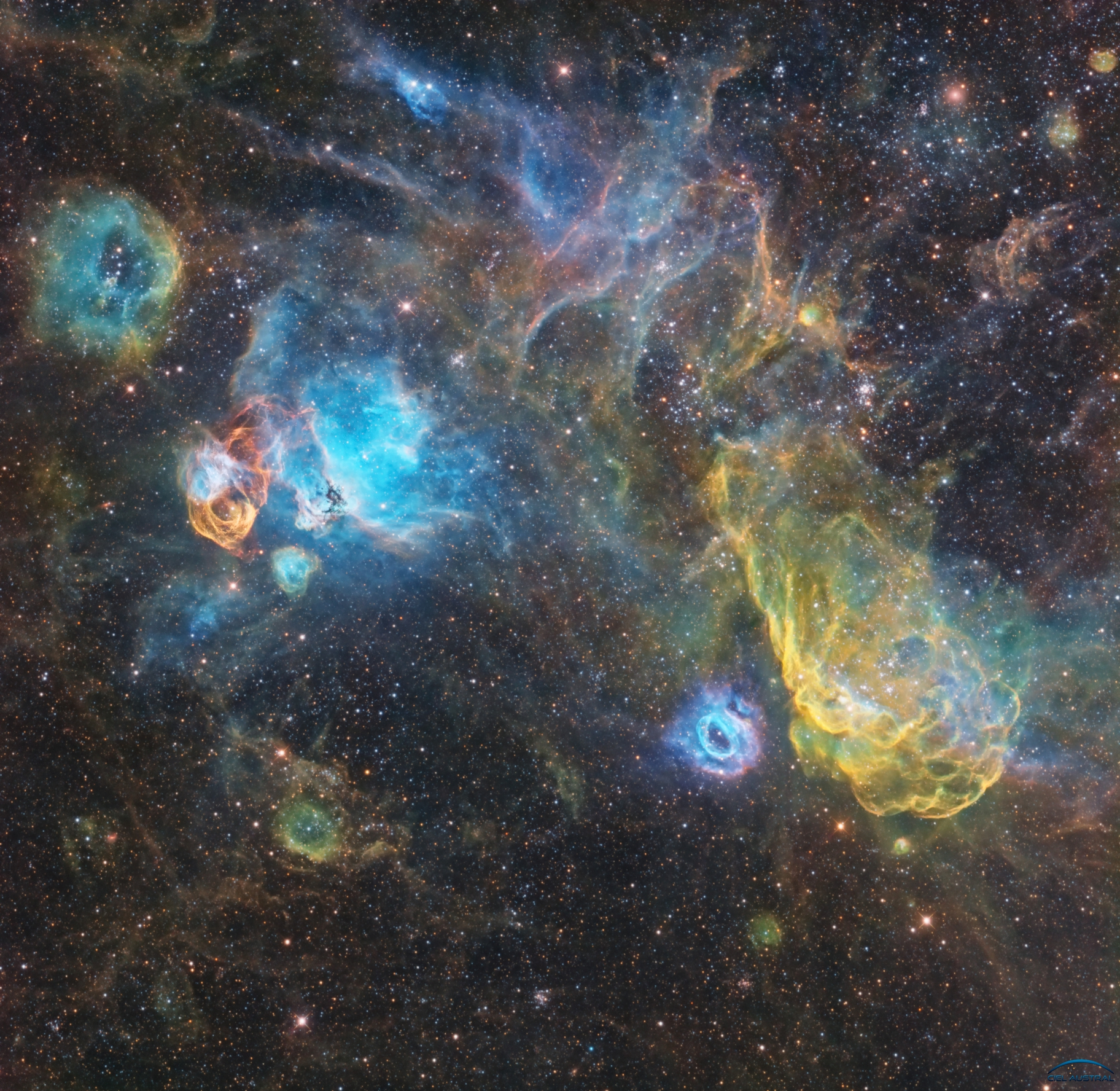 NGC2020,                                Philippe BERNHARD