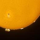 Sun detail in Hα 20170709 7:23UTC v5 AR12665,                                Jose Carballada