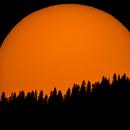 Sunset, Sonnenuntergang in Mariazell 2017-04-09,                                Gerhard Aschenbre...