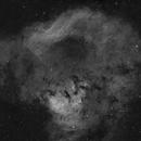 NGC 7822 in Ha,                                Nadir Astro