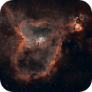 IC1805 - Heart Nebula,                                Michael Grondijs
