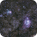 M8 Lagoon & M20 Trifid Nebulae #3,                                Molly Wakeling