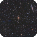 NGC 891 & Abell 347,                                Paolo Demaria