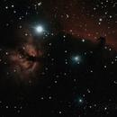Horsehead and Flame Nebulae,                                Javier R.