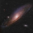 M31 - Andromeda Galaxy,                                Sektor