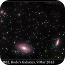 M81 & M82, Bode's Galaxies, 9 Mar 2013,                                David Dearden