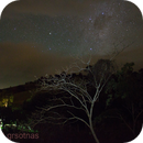 The Beauty of the Sky - A Hole in the Clouds Revealing the Starry Skies,                                Gabriel R. Santos (grsotnas)