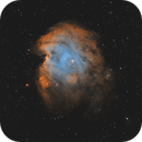 The Space Monkey - NGC 2174,                                Axel