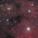 NGC 7822 :  2 panels mosaic,                                noodle