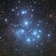 M45 Pleiades,                                Dave & telescope