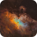 M16 - The Eagle Nebula,                                Tommy Lease