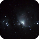 First Attempt Deepsky: Orionnebula M42,                                Samuelo