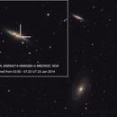 M81 and M82 with Supernova PSN J09554214+6940260,                                Serge Caballero