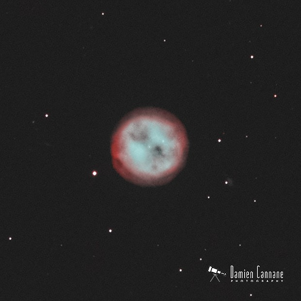 The Owl Nebula,                                Damien Cannane
