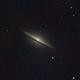 M104, the sombrero galaxy from my home town, Alicante.,                                Luis M. Gutiérrez
