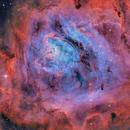 Messier 8,  the Lagoon Nebula,                                Ricardo Pereira