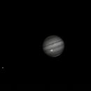 Methane band Jupiter April 18,                                bunyon