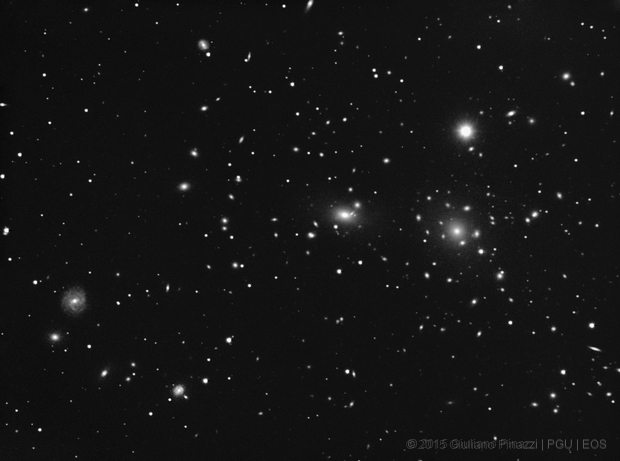 Abell 1656 Coma Cluster of Galaxies,                                PGU (Giuliano Pinazzi)