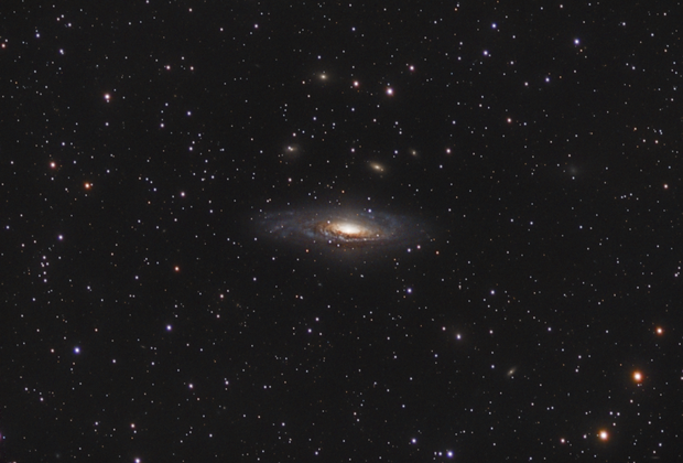 NGC 7331 - Deerlick Galaxy,                                Mike Hislope