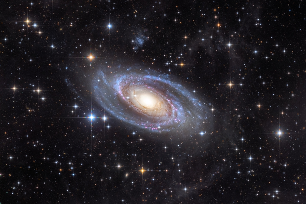 Messier 81,                                Péter Feltóti