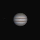 Jupiter with Io,                                Oliver Runde