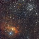 The Bubble Nebula & The Salt and Pepper Cluster,                                Vencislav Krumov
