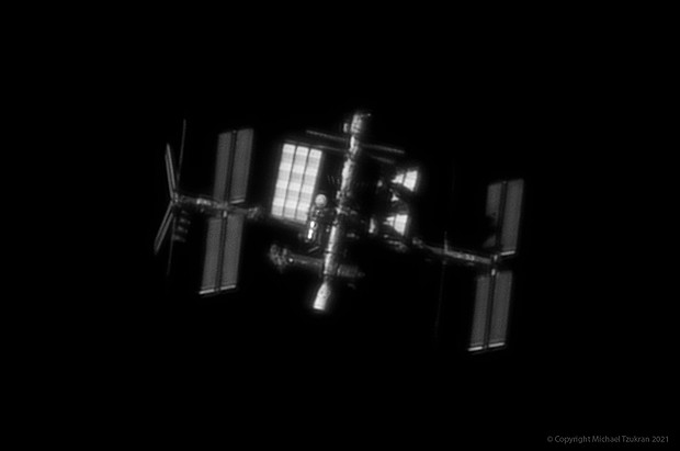 Space Station flyby,                                Michael.Tzukran
