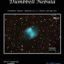 The Dumbbell Nebula M27,                                Phil Segre