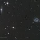 The Lost Galaxy of Copeland and friends , NGC4535, NGC4526,                                jon nicholls