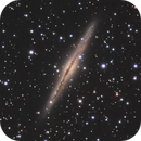NGC891 an edge on spiral in a sea of stars and galaxies,                                Sven Hoffmann