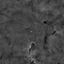 Elephant Trunk IC 1396 3nm Ha, wide field,                                Nucdoc