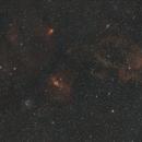 NGC 7635 en grand champ,                                Jean-Pierre Bertrand