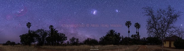 Namibian southern night sky,                                Aleix Roig