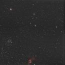 M52 and Bubble Nebula,                                Matt Dieterich