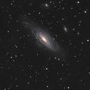 NGC7331 au C9.25 F10,                                Christophe