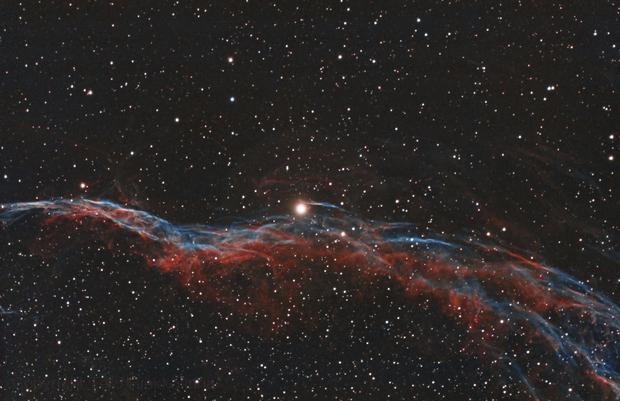 Veil Nebula,                                Tertsi
