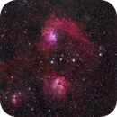 The Flaming Star Nebula (IC 405) and Surrounding Nebulae,                                David McGarvey