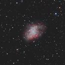 M1 the Crab Nebula,                                Pierre Tremblay
