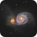 M51, the Whirlpool Galaxy,                                Bart Delsaert
