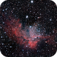 Wizard Nebula (NGC 7380),                                Maxim