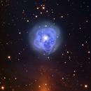 "NGC 1514 - ""Crystal Ball"" Planetary Nebula - HaRGB - Liverpool Telescope,                                Daniel Nobre"