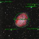 M1 crab nebula,                                angelo mazzotti