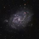M33 (The Triangulum Galaxy) in LHaRGB,                                Eric Solís
