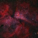 Carina Nebula with H-alpha,                                Delberson