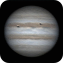 Jupiter animation Io and Europa at opposition,                                Steve