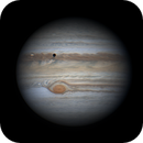 Jupiter on May 20, with Io Transit and the leak of the Great Red Spot,                                Walter Martins