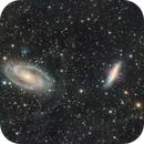 M81, M82, and the Integrated Flux Nebula (#7),                                Molly Wakeling