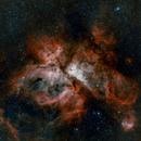 NGC3372 Eta Carinae from Costa Rica,                                Tizoc Suarez
