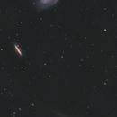 M81, M82 & Comet C/2017 T2 (PANSTARRS),                                Spitzer